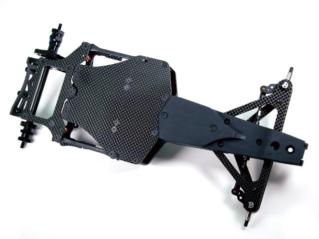 ybrid monocoque chassis